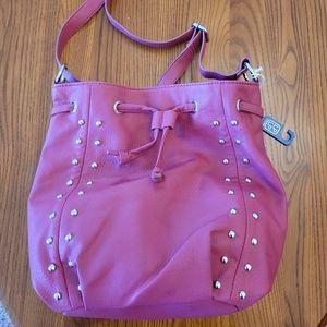 Linea Pelle red crossbody bag - NEW